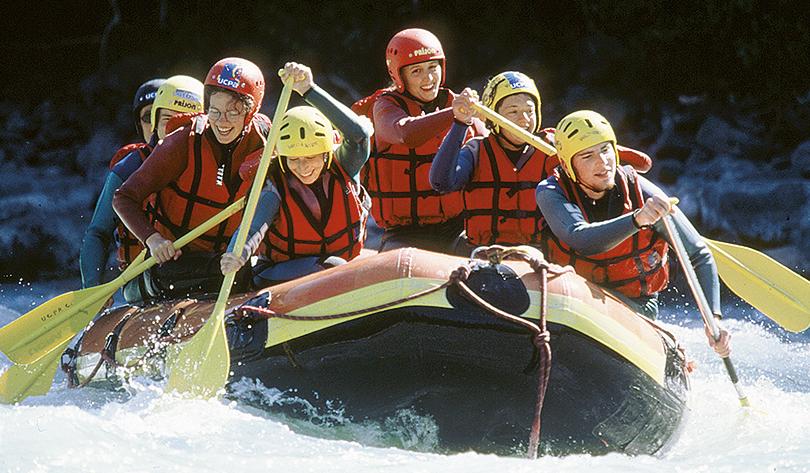 sports et loisirs rafting