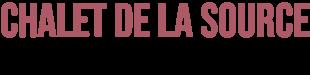Chalet de la Source Logo
